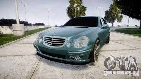 Mercedes-Benz W211 E55 AMG Vossen VVS CV5 для GTA 4