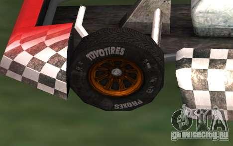 Обновлённый Kart для GTA San Andreas для GTA San Andreas вид справа