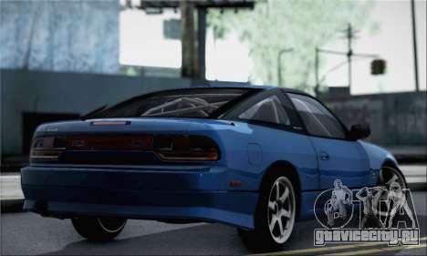 Nissan 180SX Facelift Silvia S15 для GTA San Andreas вид слева