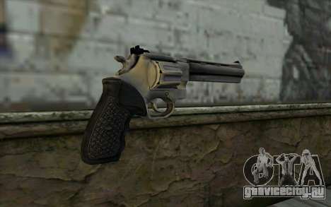 Revolver from Max Payne 3 для GTA San Andreas второй скриншот