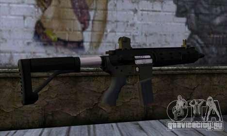 Carbine Rifle from GTA 5 v2 для GTA San Andreas второй скриншот