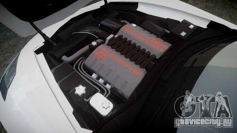 Chevrolet Corvette C7 Stingray 2014 v2.0 TireYA3 для GTA 4 вид сбоку