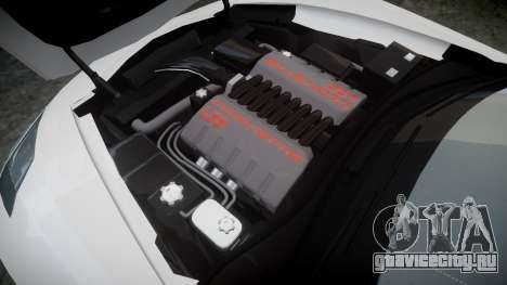 Chevrolet Corvette C7 Stingray 2014 v2.0 TireBr3 для GTA 4 вид сбоку