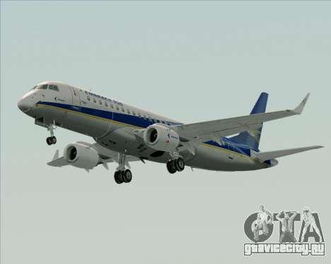 Embraer E-190-200LR House Livery для GTA San Andreas вид сбоку