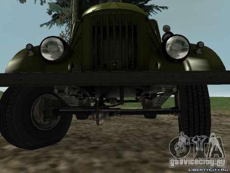ГАЗ-69 для GTA San Andreas вид сзади слева