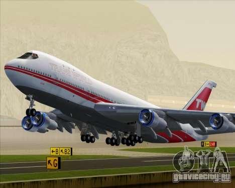 Boeing 747-100 Trans World Airlines (TWA) для GTA San Andreas