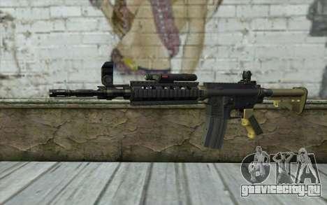 M4 MGS Aimpoint v1 для GTA San Andreas
