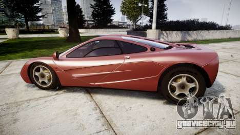 Mclaren F1 1993 [EPM] для GTA 4 вид слева
