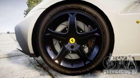 Ferrari California [EPM] v1.5 для GTA 4 вид сзади