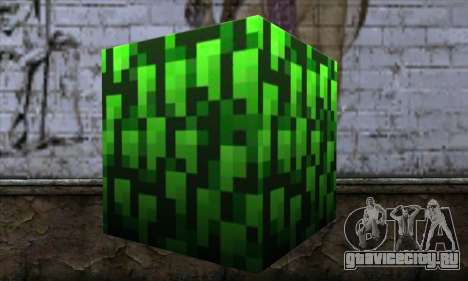 Блок (Minecraft) v12 для GTA San Andreas второй скриншот