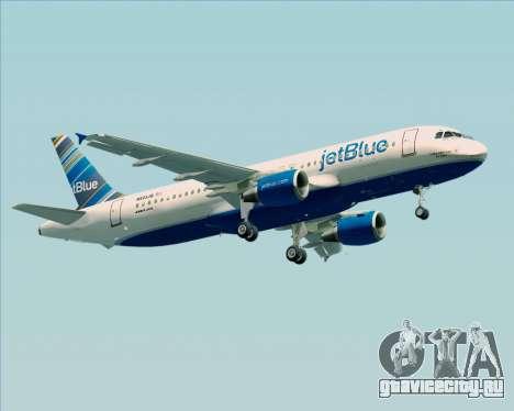 Airbus A320-200 JetBlue Airways для GTA San Andreas вид справа