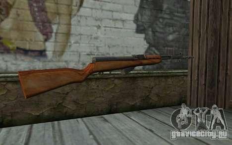 Самозарядный Карабин Симонова для GTA San Andreas второй скриншот