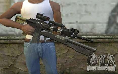 M4 MGS Aimpoint v3 для GTA San Andreas третий скриншот