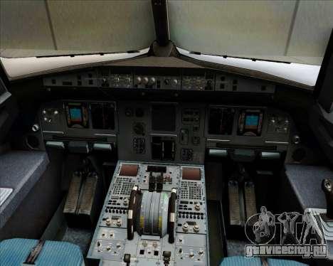 Airbus A320-200 Air Asia Philippines для GTA San Andreas салон