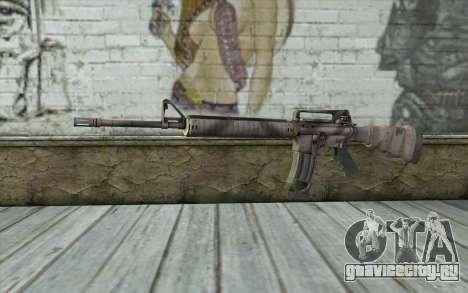 M16A4 from Battlefield 3 для GTA San Andreas
