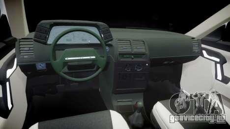 ВАЗ-2112 бродяга для GTA 4 вид изнутри