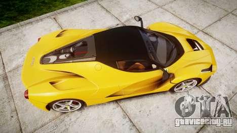 Ferrari LaFerrari [EPM] v1.2 для GTA 4 вид справа