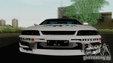 Nissan Skyline GT-R33 для GTA San Andreas вид сверху