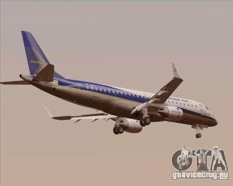 Embraer E-190-200LR House Livery для GTA San Andreas вид сзади