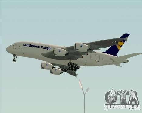 Airbus A380-800F Lufthansa Cargo для GTA San Andreas