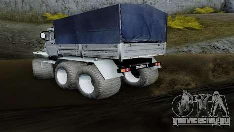 ЗиЛ Кержак 6х6 для GTA San Andreas вид слева