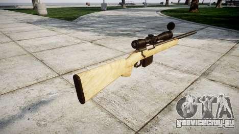 Снайперская винтовка с HQ текстурами для GTA 4 второй скриншот