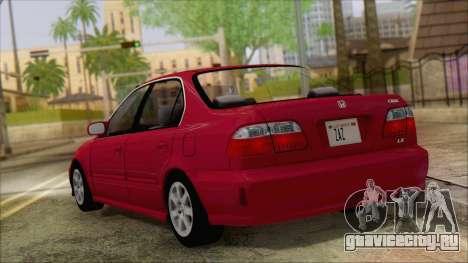 Honda Civic 2000 для GTA San Andreas вид слева