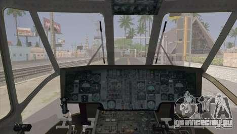 Helicopter Nuri Malaysia Mod (Seaking) для GTA San Andreas вид справа