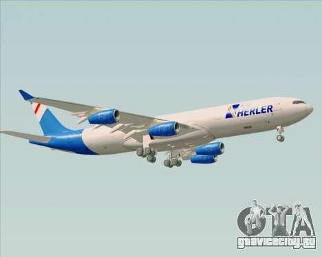 Airbus A340-300 Air Herler для GTA San Andreas вид справа