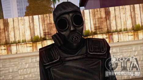 SAS from Counter Strike Condition Zero для GTA San Andreas третий скриншот