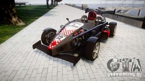 Ariel Atom V8 2010 [RIV] v1.1 Rosso & Bianco для GTA 4