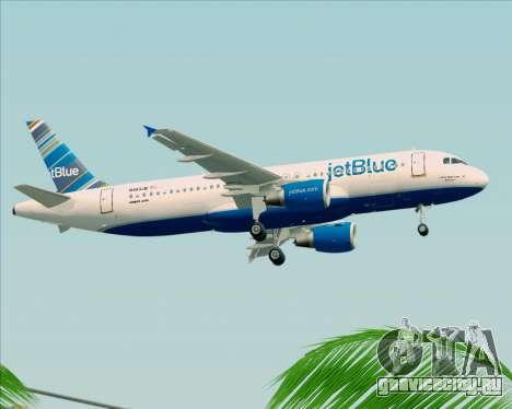 Airbus A320-200 JetBlue Airways для GTA San Andreas вид сбоку