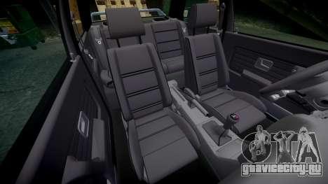 BMW M3 E30 1991 [EPM] для GTA 4 вид сбоку