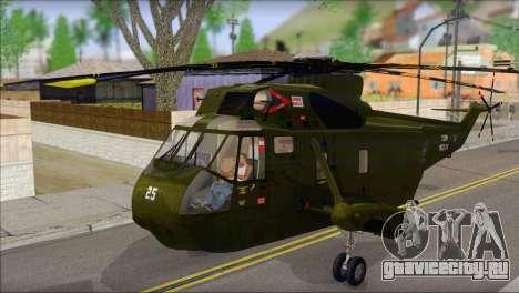 Helicopter Nuri Malaysia Mod (Seaking) для GTA San Andreas