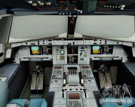 Airbus A380-800 Air France для GTA San Andreas салон