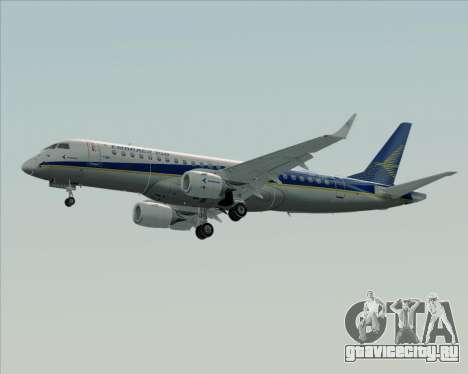 Embraer E-190-200LR House Livery для GTA San Andreas вид сзади слева