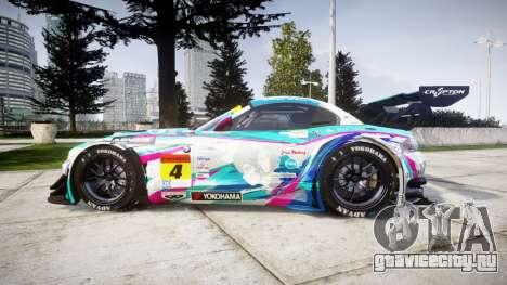 BMW Z4 GT3 2014 Goodsmile Racing для GTA 4 вид слева