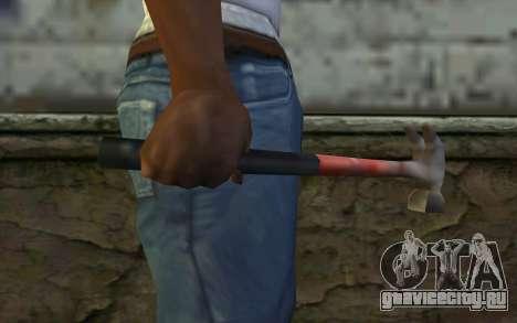 Молоток (GTA Vice City) для GTA San Andreas третий скриншот