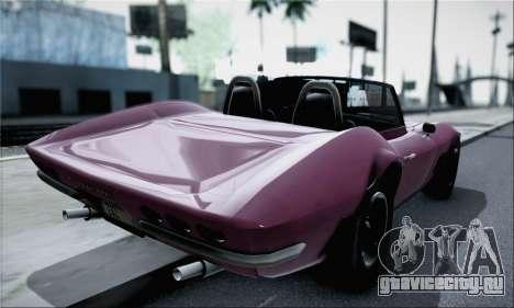 Invetero Coquette Classic v1.1 Open Top для GTA San Andreas вид слева
