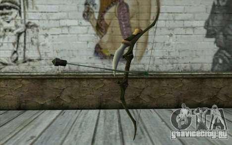 Green Arrow Bow v2 для GTA San Andreas