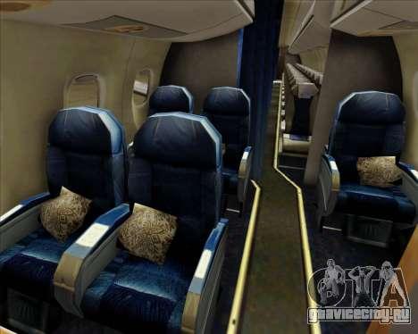 Embraer E-190-200LR House Livery для GTA San Andreas двигатель