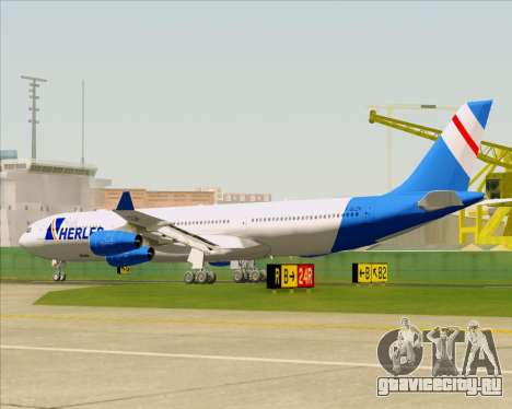 Airbus A340-300 Air Herler для GTA San Andreas колёса