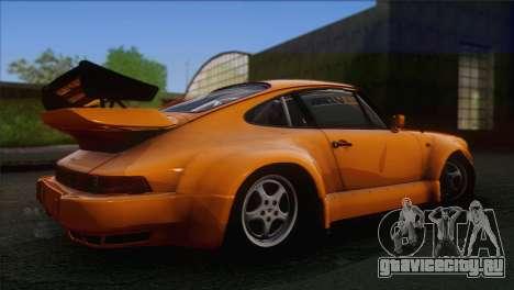 Porsche 911 Turbo 1982 Tunable KIT C PJ для GTA San Andreas вид сбоку