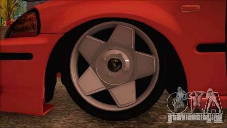 Honda Civic 34 VB 8884 для GTA San Andreas вид сзади слева