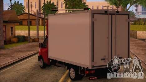 ГАЗель 3302 Бизнес для GTA San Andreas вид слева