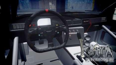 Mercedes-Benz 190E Evo II GT3 PJ 4 для GTA 4 вид сзади