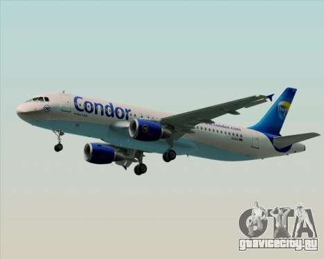 Airbus A320-200 Condor для GTA San Andreas вид сбоку