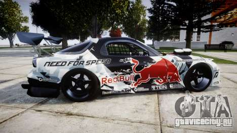 Mazda RX-7 Mad Mike для GTA 4 вид слева