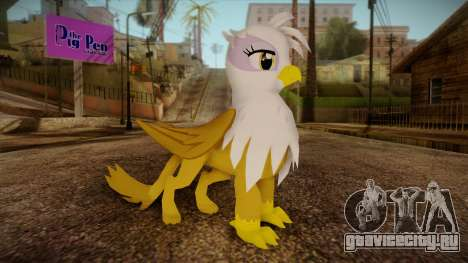 Gilda from My Little Pony для GTA San Andreas