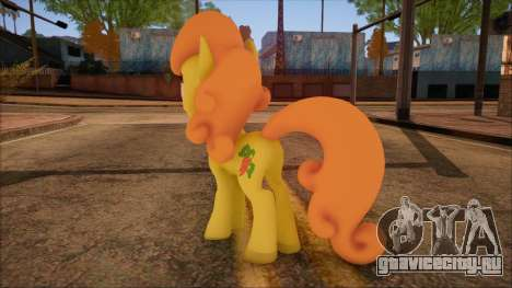 Carrot Top from My Little Pony для GTA San Andreas второй скриншот